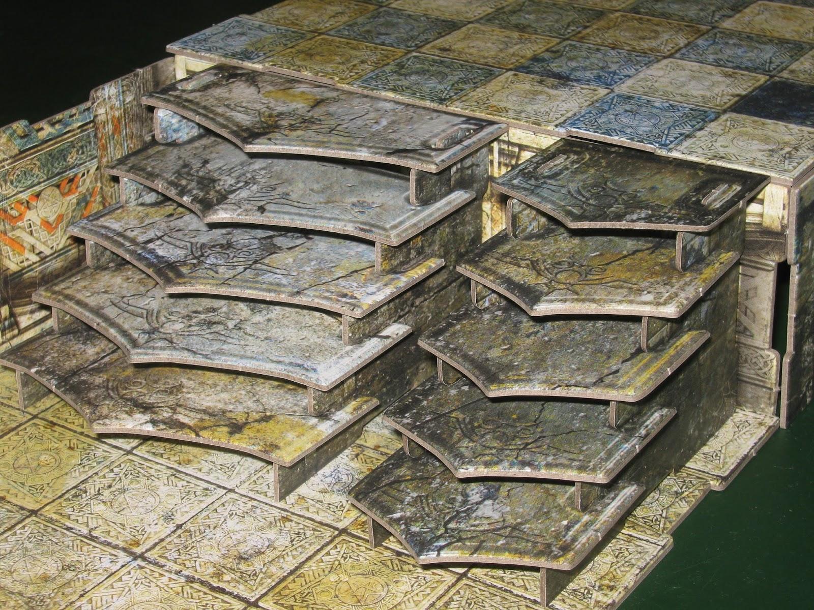 The Miniatures Man: Terraclips Dungeon Essentials 28mm terrain