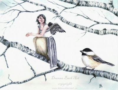 Kindreds - Chickadee by Deanna Bach-Talsma