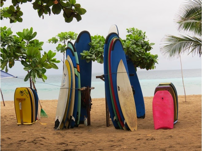 Along Kuta Beach in the Area nearly the Grand Inna Kuta Hotel nearly the get-go Beach Entrance Beaches in Bali: Sea Turtle Statue Kuta Bali