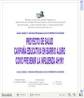 PROYECTO UNIVERSITARIO COMUNITARIO DE SALUD PREVENTIVA