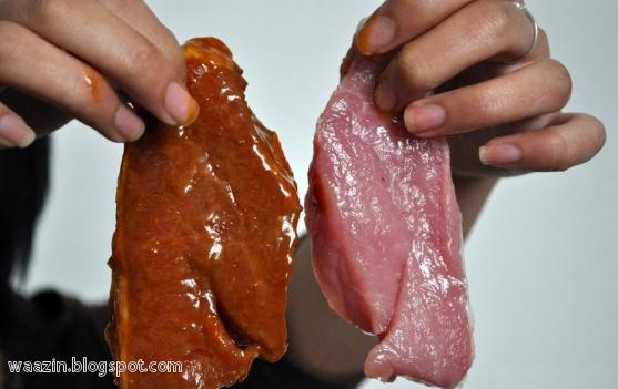 Awas Daging Tiruan: Daging Lembu Diproses Daripada Daging Babi?