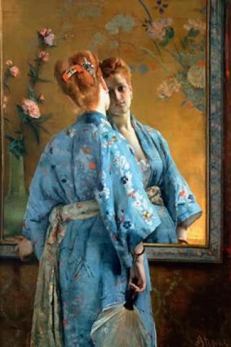 japonisme alfred stevens portrait