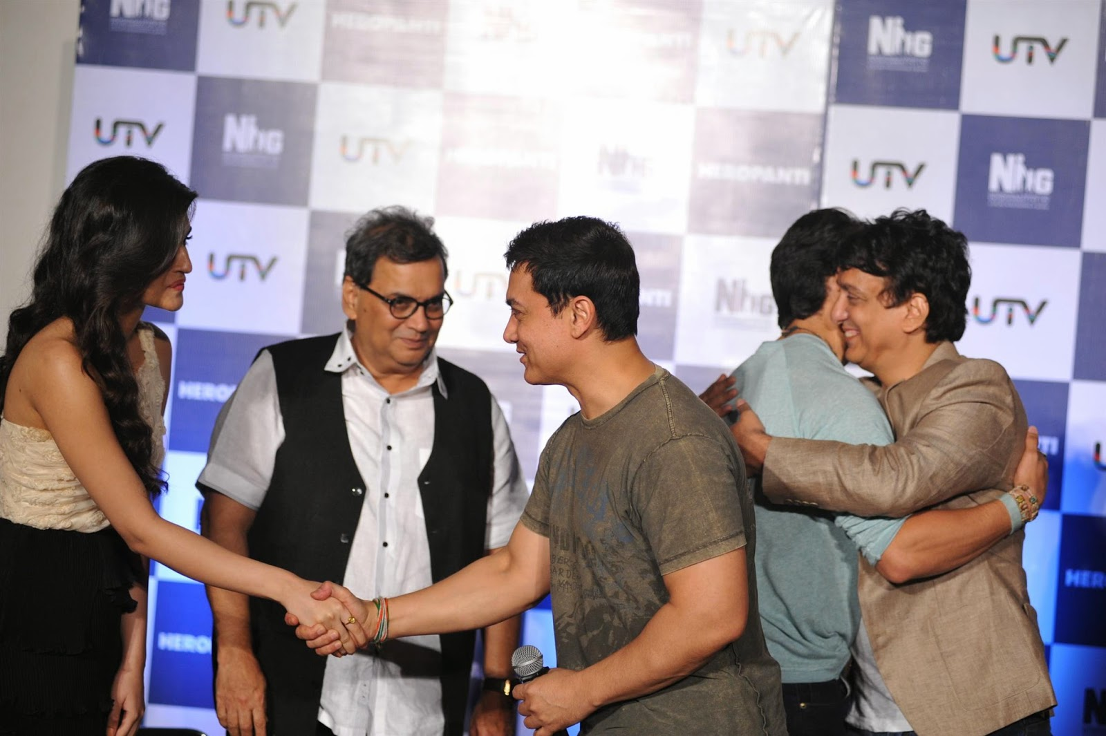 Aamir Khan at First Look Launch of Heropanti Movie