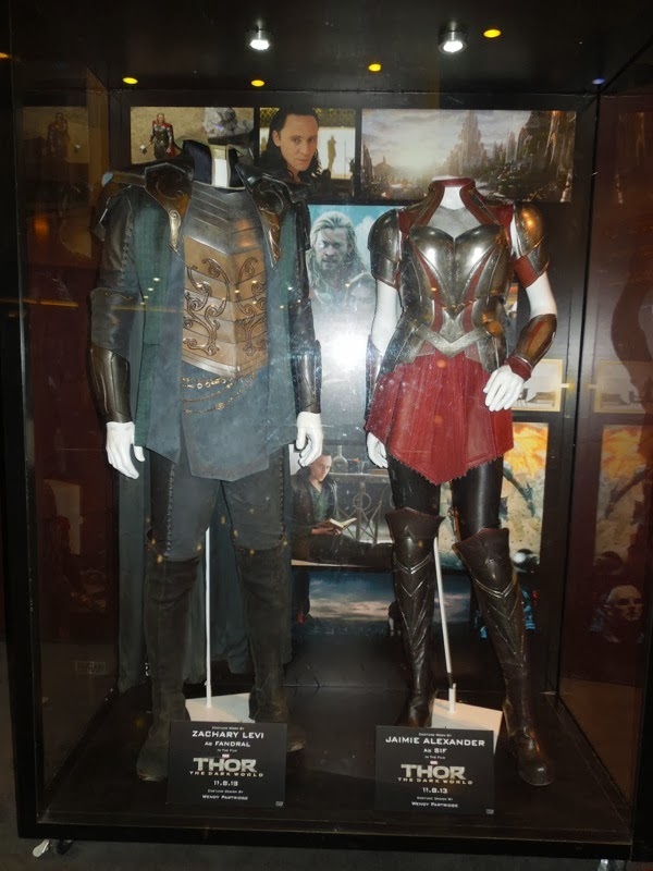Fandral Sif Thor 2 movie costumes