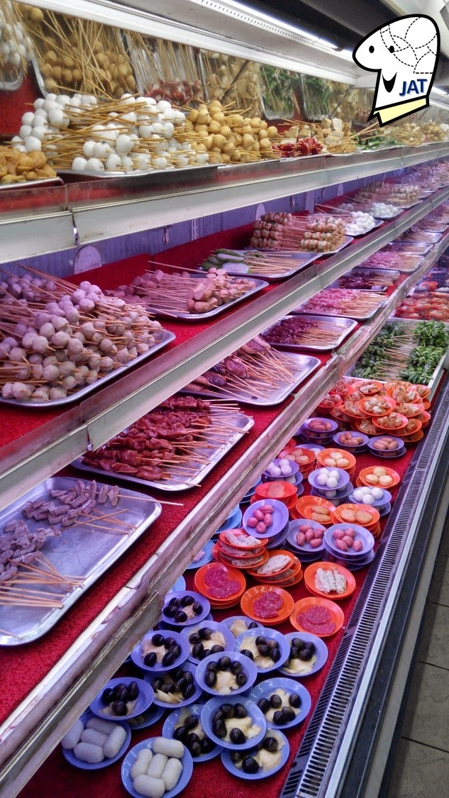 Restoran Capitol Satay - food selection.