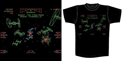 Star Wars x Super7 T-Shirt Collection Series 1 - &#8220;Star Wars Arcade&#8221; by Brian Flynn