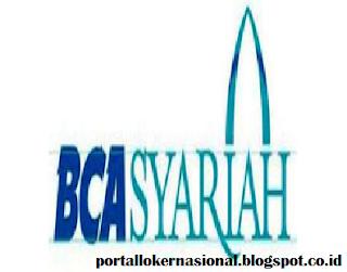 Lowongan Kerja PT. Bank BCA Syariah