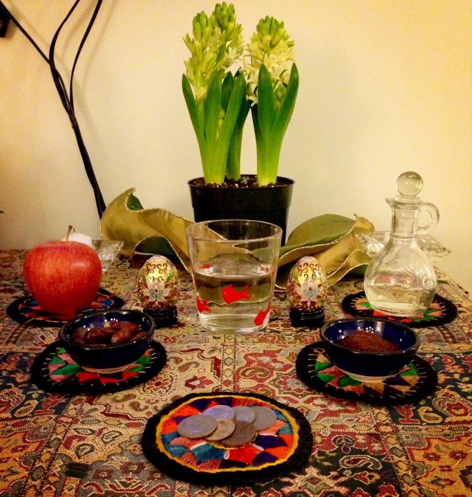 Persian New Year (Nowruz 1392) – Ahu Eats Persian Haft Seen