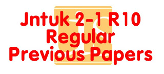 2-1 Regular Previous Papers