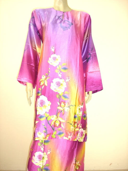 Download image Gallery Baju Kurung Satin Picture Uploaded PC, Android ...