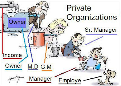 Corporate Culture & Environment, How it works in a Private Organization