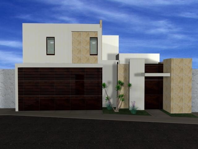 Fachadas minimalistas casas estilo minimalista for Nuevas fachadas minimalistas