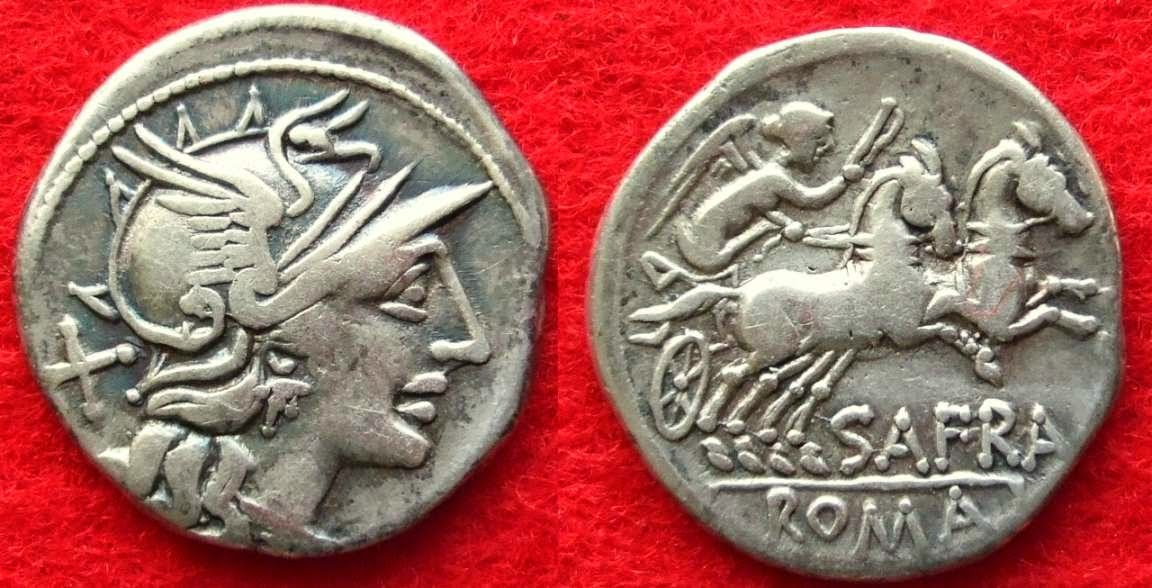 Prestacion y monedas romanas