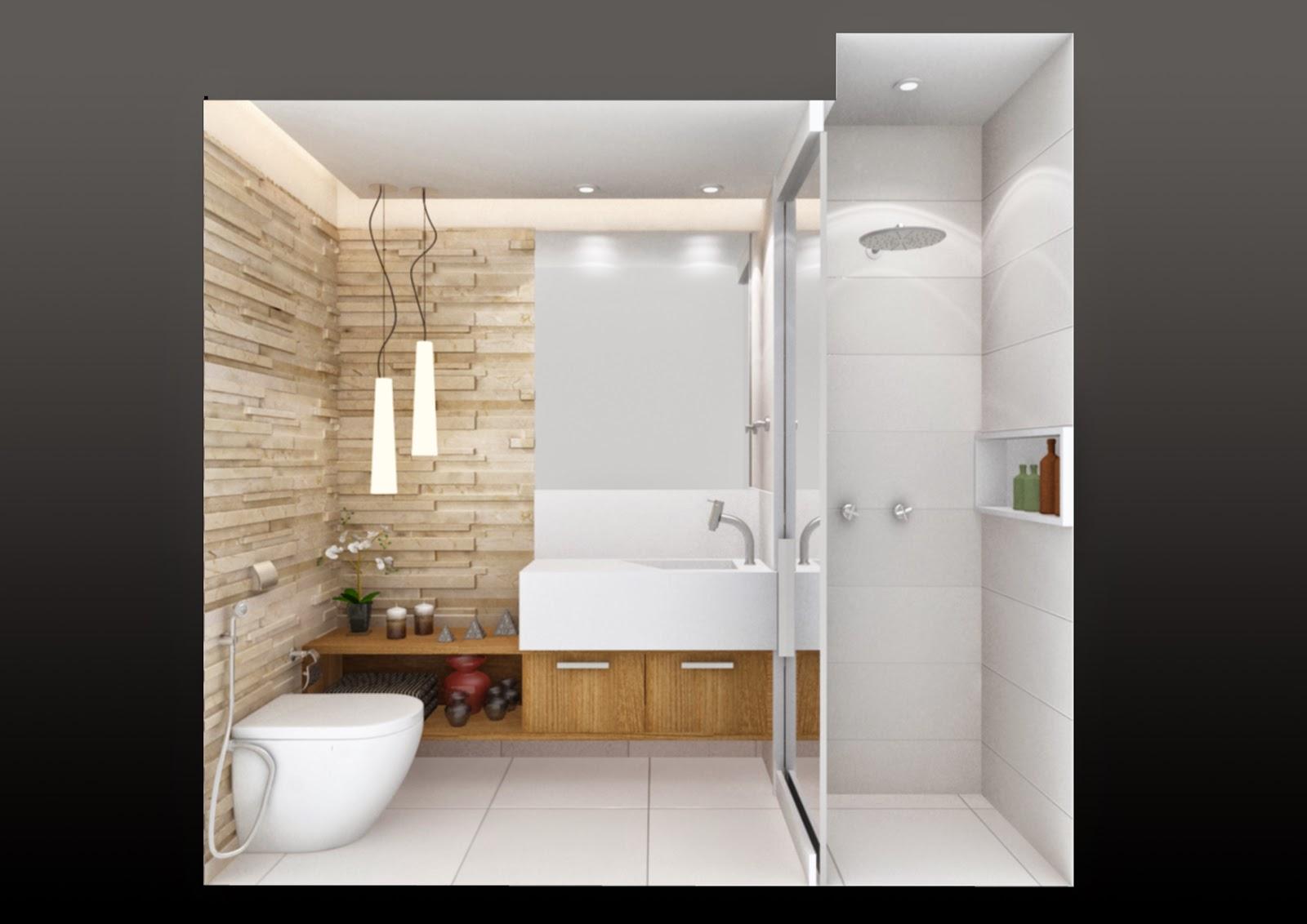 Ambientando: LAVABO X BANHEIRO SOCIAL #8C693F 1600x1132 Arquitetura Banheiro Social