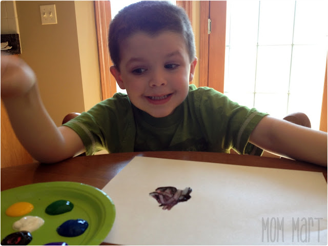 Crafts for Kids: Q-Tip Painting {They LOVE to paint}
