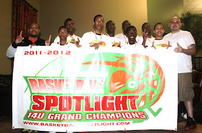 Basketball Spotlight Grand Finale 14U Champions (Click The Photo For Recaps)