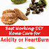 Best Working DIY Home Cure for Acidity or HeartBurn