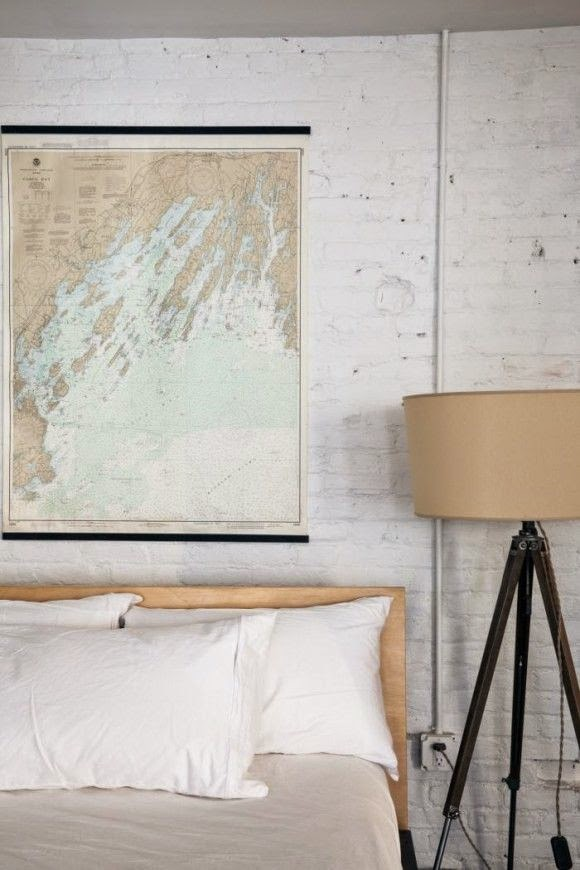 top 15 ways to repurpose maps as wall art
