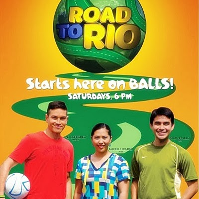 Atom Araullo, Aly Borromeo, Marielle Benitez Host FIFA World Cup's 'Road to Rio' on Balls, ABS-CBN Sports+Action