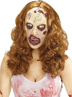 Zombie pige maske