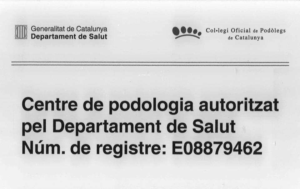 La nostra Clínica está autorizada pel Servei Català de la Salut amb Núm Registre:  E08879462