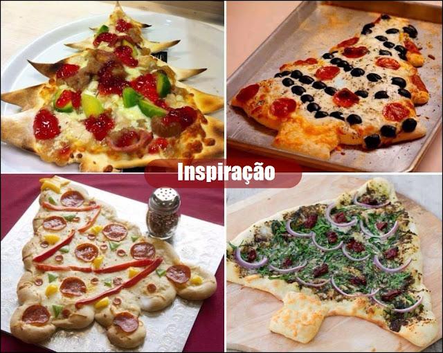 pizza para o natal
