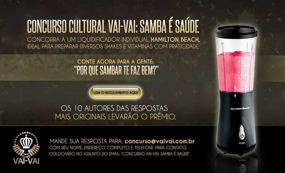 Concurso Cultural Vai Vai - Samba é Saúde