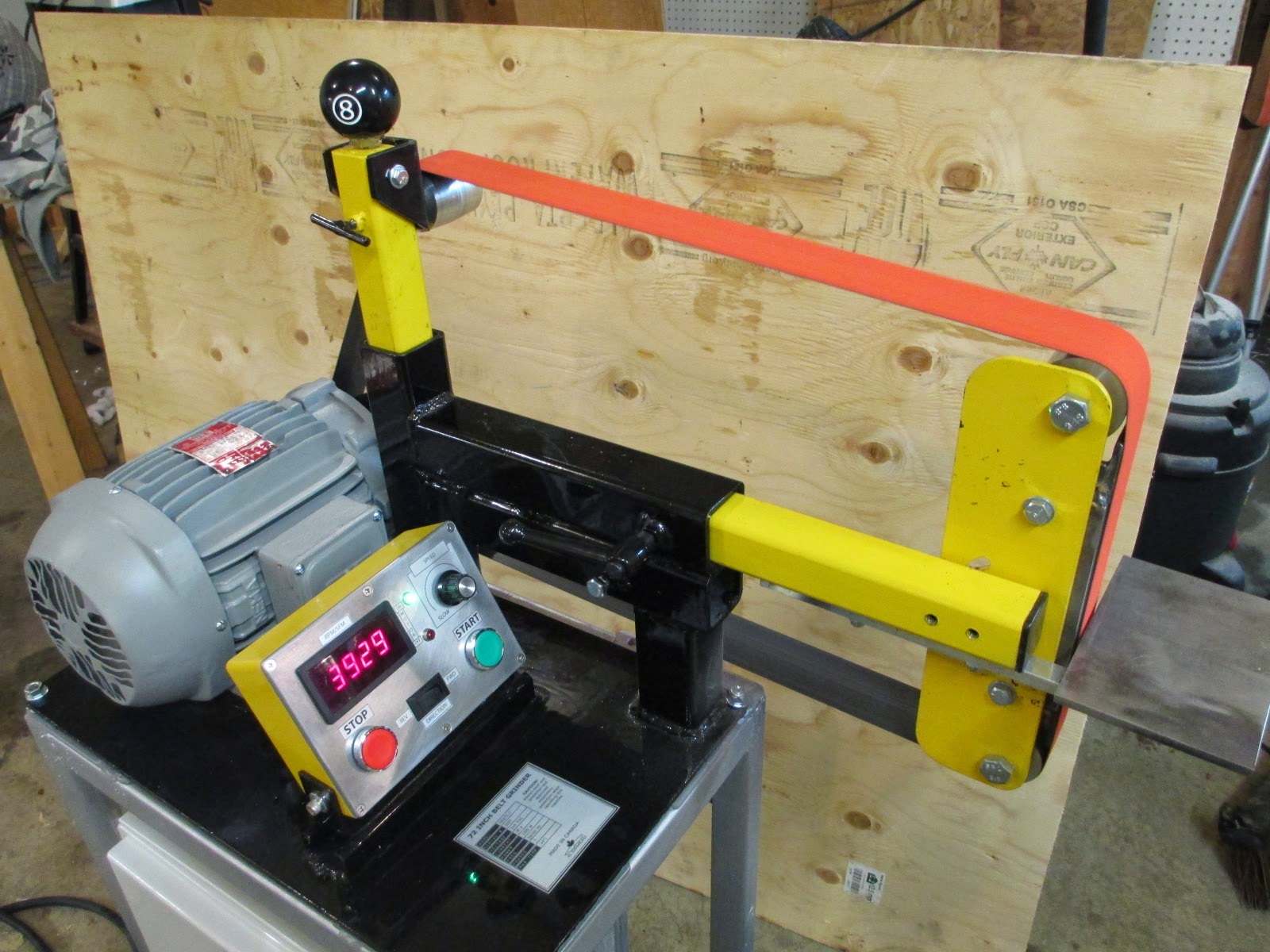 Diy Knifemaker S Info Center Bg 272 Diy 2 X 72 Quot Belt Grinder