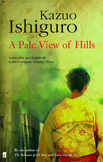 Green Cover of A Pale View of Hills by Kazuo Ishiguro