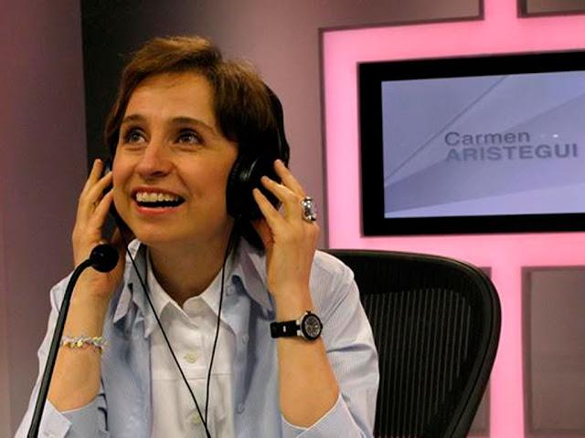 Carmen Aristegui volverá a la radio en dos semanas