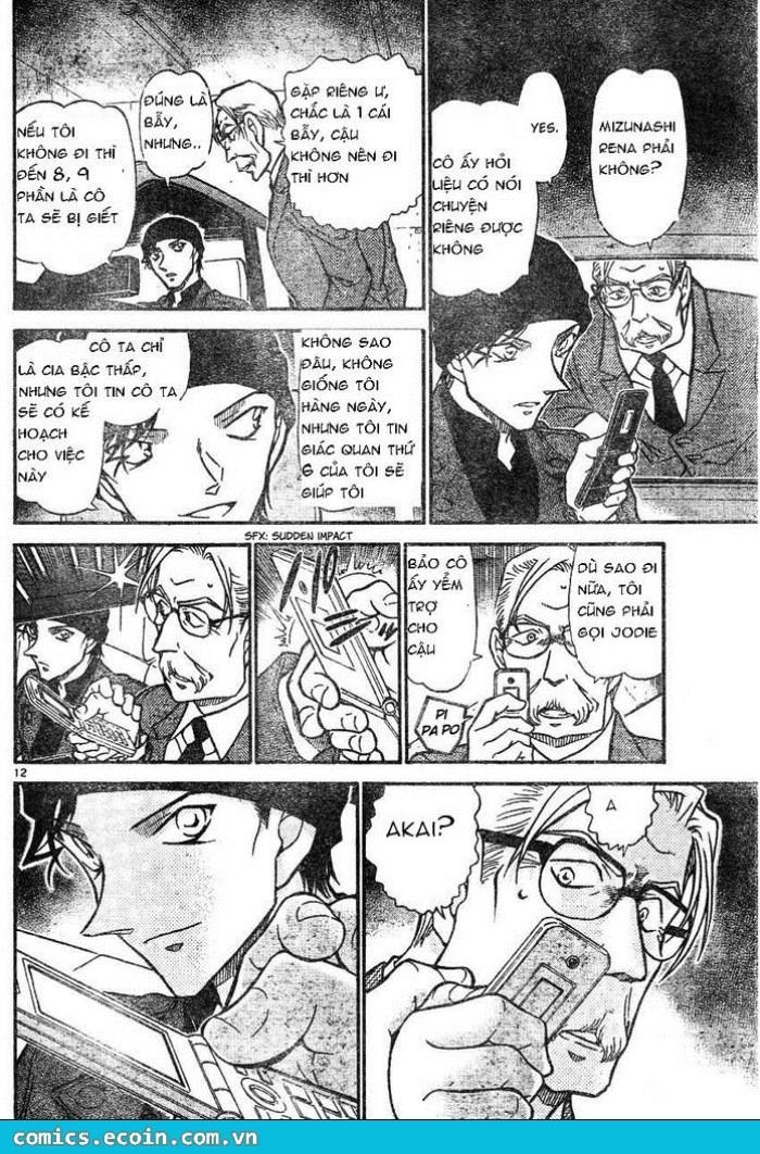 Detective Conan - Thám Tử Lừng Danh Conan chap 607 page 12 - IZTruyenTranh.com