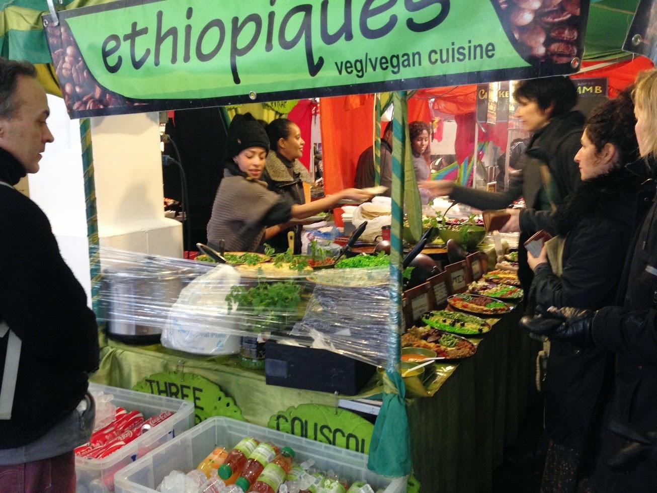 Indoor food market, Shoreditch