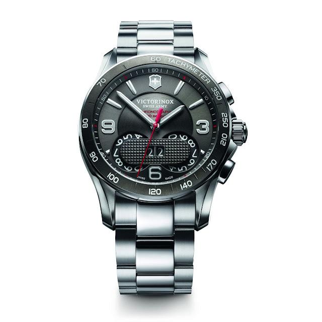 Victorinox Swiss Army Chrono Classic 1/100 Watch steel