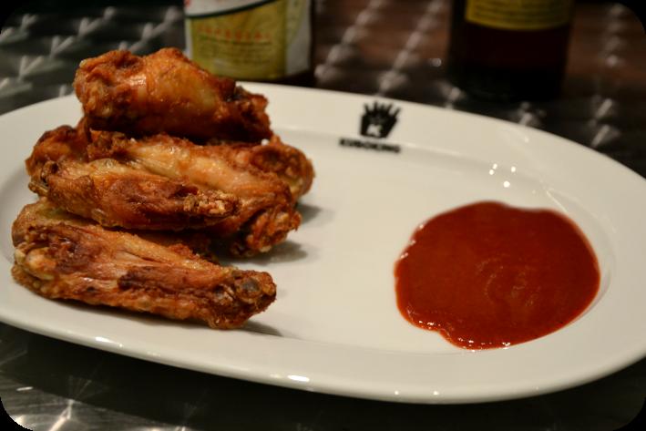 Alitas de pollo en Kubo King
