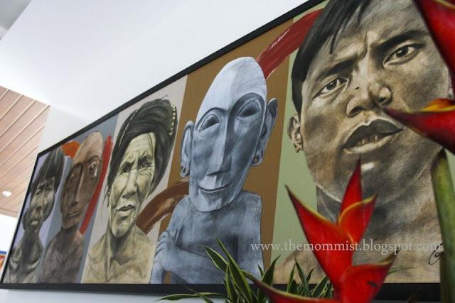 Bulol and Ifugao painting
