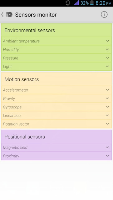 MyDroid System info - Sensors Monitor