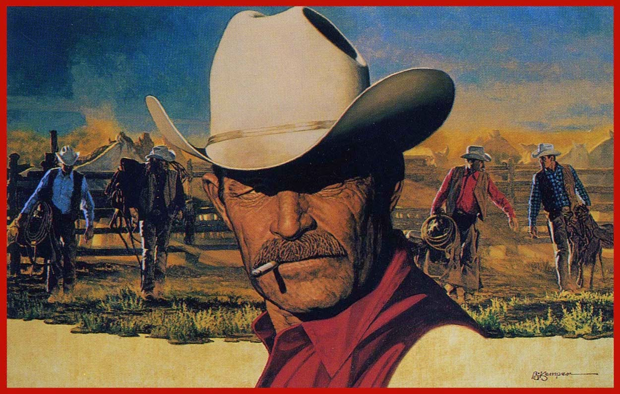 The Marlboro Man by advertising magnate Leo Burnett