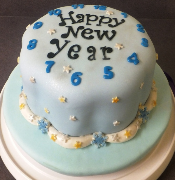 New Year S Day Cake : My Baking Experiences