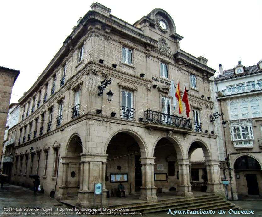 Plaza Mayor de Ourense, Ayuntamiento