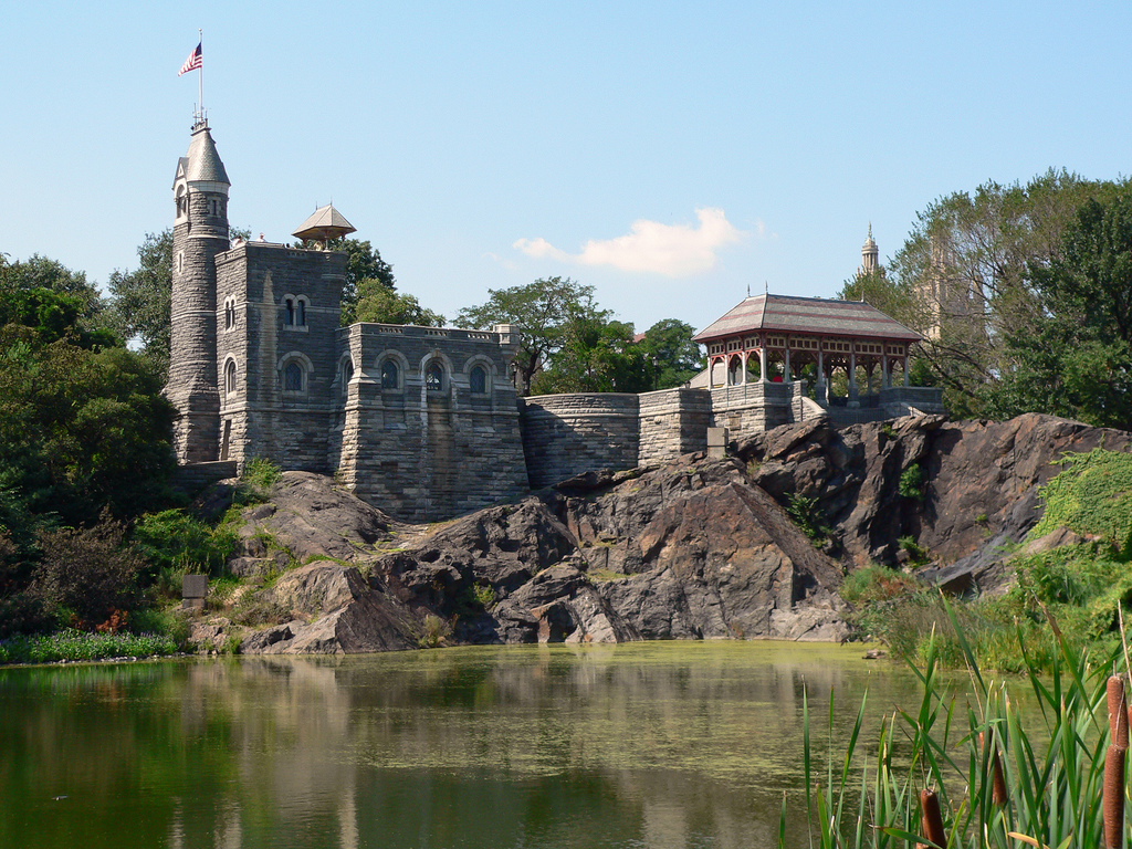 New york central park belvedere castle 1 new york central park