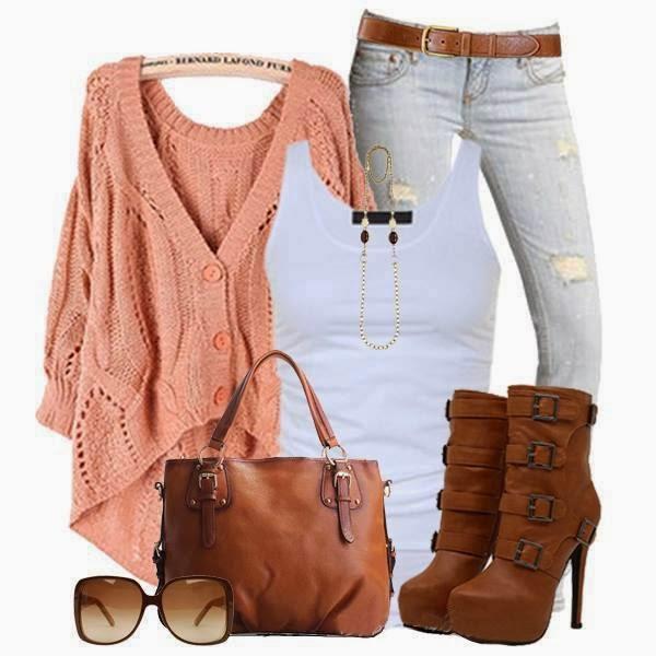 Jeans, Long Shoes, Shirt, Dress...