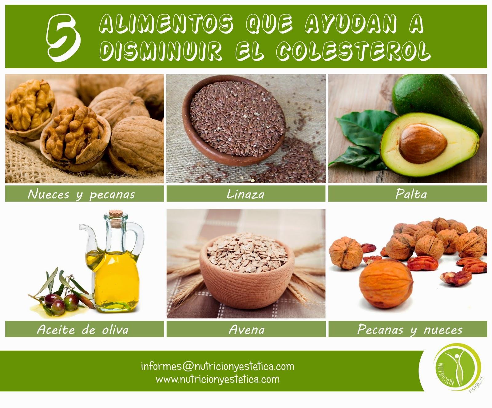 Nutricion estetica 5 alimentos que ayudan a disminuir el colesterol nutricionista lima - Alimentos que provocan colesterol ...