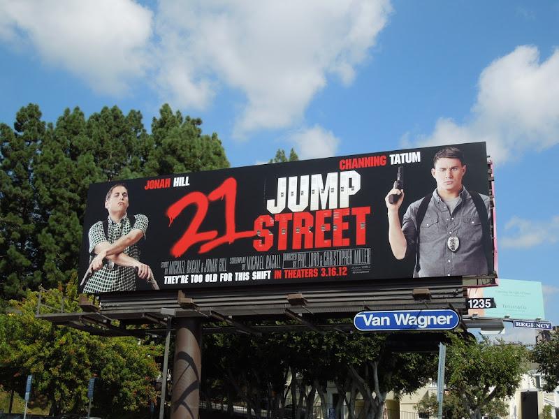 21 Jump St billboard