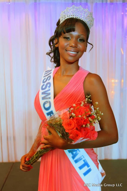 Miss World Haiti 2013 winner Ketsia Iciena Lioudy