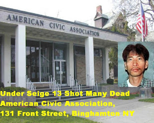 APRIL 3 2009 BINGHAMTON NY MASS SHOOTING JIVERLY ANTARES WONG MURDERED 13 PEOPLE.