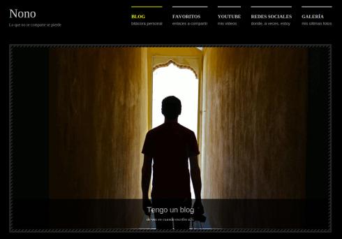 Web de Nono 2013
