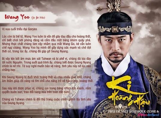 Hình Ảnh Diễn Viên Trong Bộ Phim Hoàng Hậu Ki - Empress Ki 2013 (50 Tập)