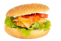 Picture of a burger