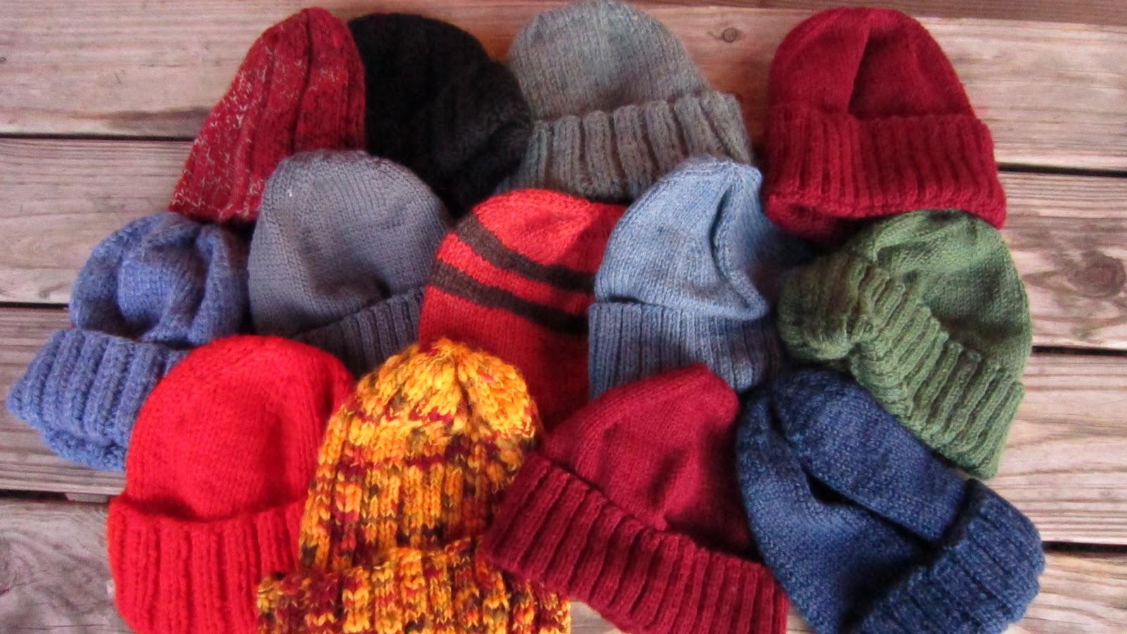 Knitting Scarves For The Homeless : Two left feet december