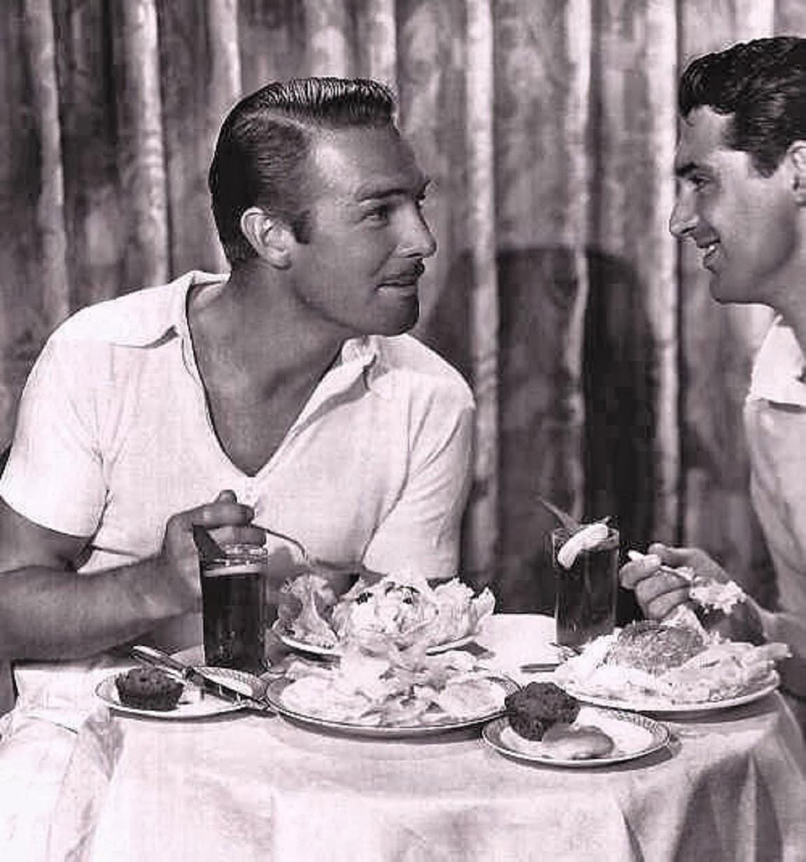 Boy Box Rebellion Cary Grant And Randolph Scott